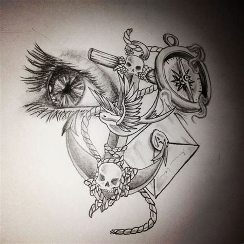 drawn tattoo designs my drawing design tattoos