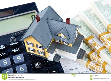 down payment calculator house down payment for house royalty free stock image image 15718936