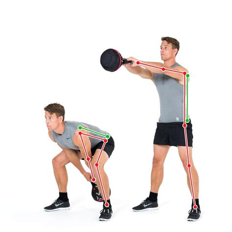 swing exercise kettlebell exercise swing to strengthen the back