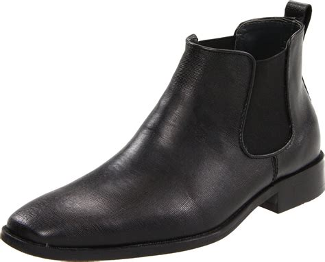 calvin klein boots calvin klein calvin klein mens garrison boot in black for