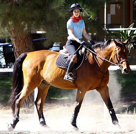 uk celebrities who love horses zooey deschanel plays cowgirl as she dons a bandana and