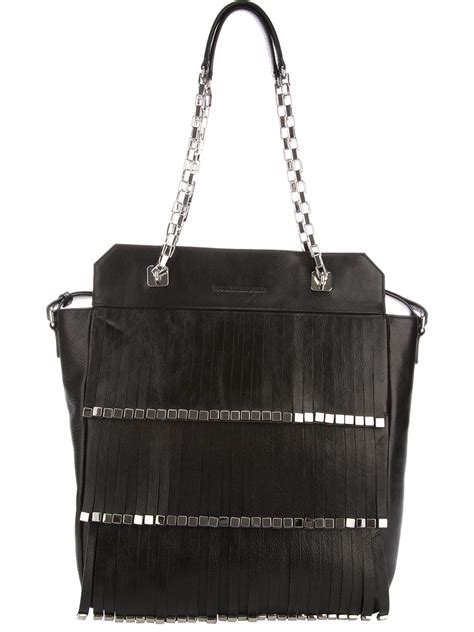 Karl Lagerfeld Says Get A Bag Perhaps From His New Purse Line by Karl Lagerfeld Kinetik Shopper Bag In Black Lyst