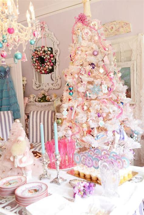 christmas wall decorating ideas pastel christmas decor dreaming of a pink christmas pink christmas tree decor