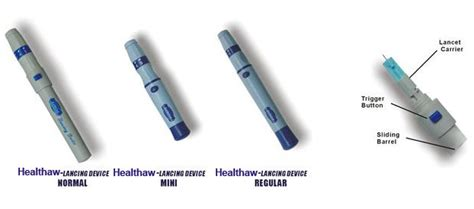 Blood Lancing Device Magic lancing device for blood lancet manufacturer supplier