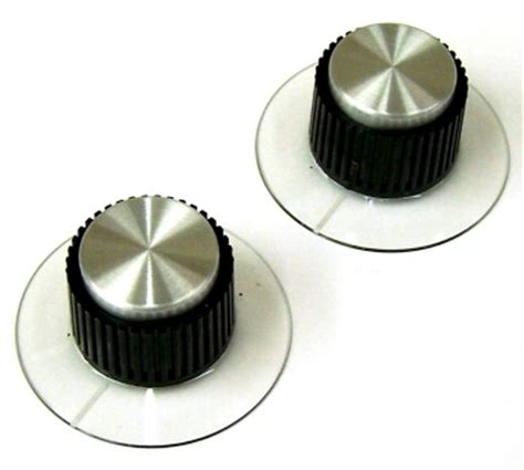 ua urei 1176ln parts two replacement input output knobs