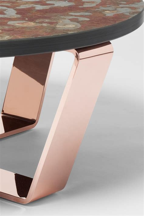 table edition slate table copper brasil coffeetable coffee tables