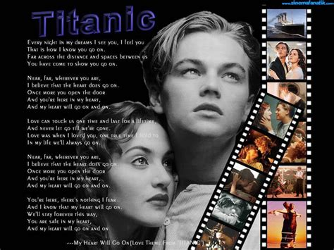 film titanic song lyrics titanic images titanic hd wallpaper and background photos