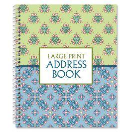 html pattern for address fresh patterns large print address book current catalog