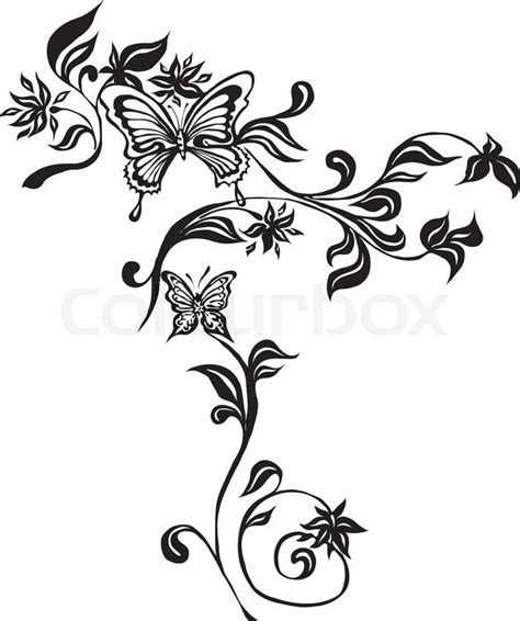 tattoo schn 246 rkel clipart stock vektor