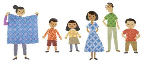 google ikut rayakan hari batik nasional  indoberitacom