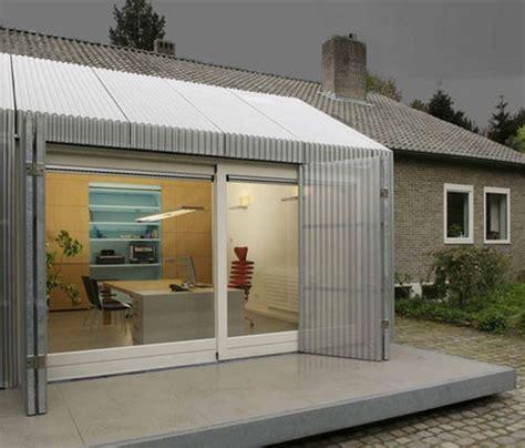 r 233 novation atypique un garage transform 233 en bureau