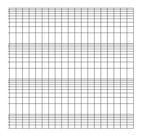 Paper Log - sle semilog graph paper 5 documents in pdf word