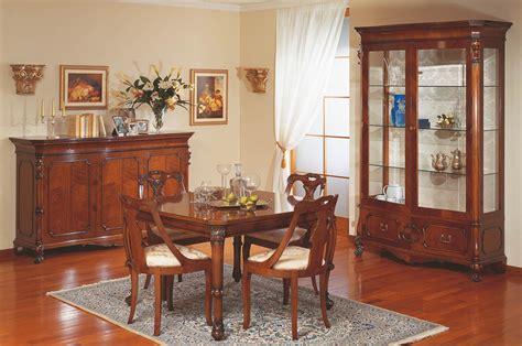 sala da pranzo classica stile 700 siciliano vimercati meda