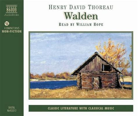 walden talking book thoreau h d walden abridged naxosdirect