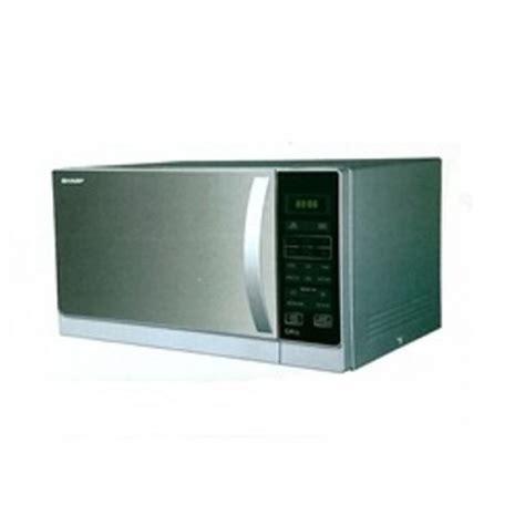 Microwave Sharp 25 Liter Grill Panggang 1000 Watt R728 K In 1 sharp r 72a0 microwave oven with grill 25 liters 220 volts 110220volts microwave oven 220