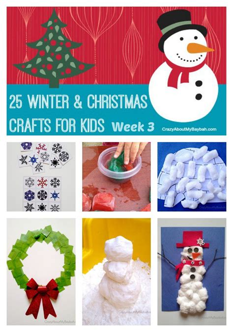 christmas love family crafts 25 winter and crafts for week 3