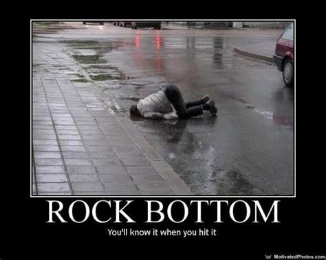 Hits Rock Bottom by Financial Rock Bottom Debt Single