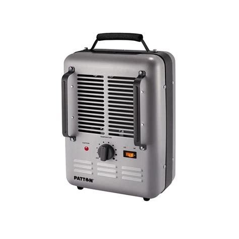 outdoor space heater home depot patton 1500 watt utility space heater puh680 u the home