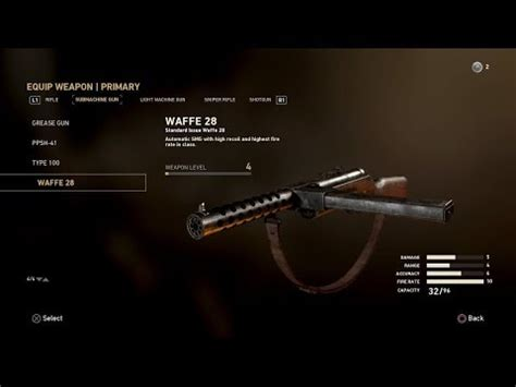 Call Of Duty 28 call of duty ww2 waffe 28 submachine gun gameplay review