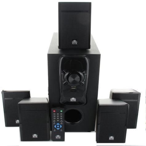 acoustic audio aa5150 home theater 5 1 speaker system 400w