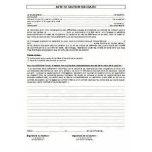 modele bail avec garant document