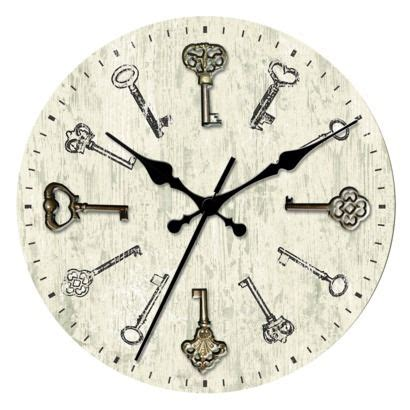 Escape With Command Key Wallclocks by Threshold Wall Clock With Antique For The Casa