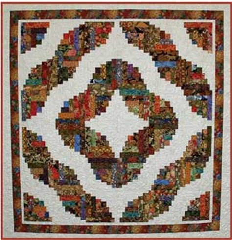 Free Log Cabin Quilt Patterns by Baby Quilt Log Cabin Pattern Sewing Patterns For Baby