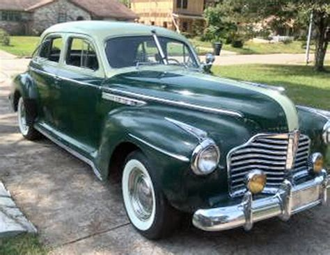 1941 buick 8 special 4dr sedan with low mileage