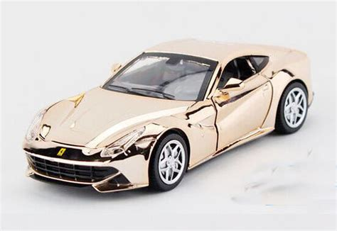 purple ferrari f12 kids 1 32 golden blue purple silver diecast ferrari