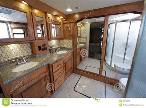 Best Stock Kitchen Cabinets by Luxury Rv Bathroom Stock Image Image Of Motorhome Bath