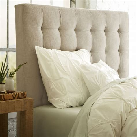 West Elm Headboard by 8 Gorgeous Tufted Headboards That Will Make You A