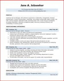 customer service manager resume resume downloads resume sle customer service telemarketing