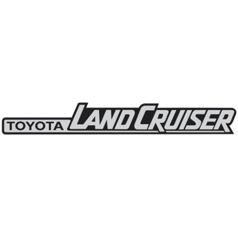 logo toyota land cruiser toyota land cruiser brands of the world download