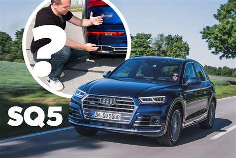 Audi Sq5 Auspuff by Audi Sq5 Tfsi 2017 Erster Test Fahrbericht Audi Sq5 Fy