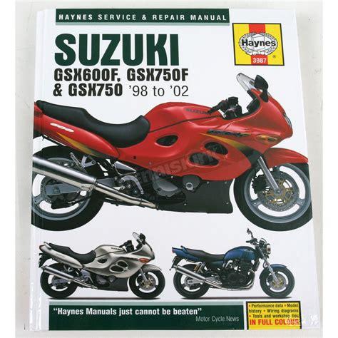 Suzuki Motorcycle Repair Manual Haynes Suzuki Motorcycle Repair Manual 3987 Sport Bike