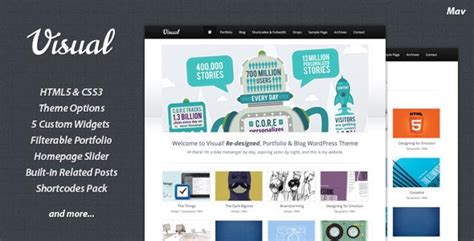 themes graphic design 45 excellent html5 wordpress themes web graphic design