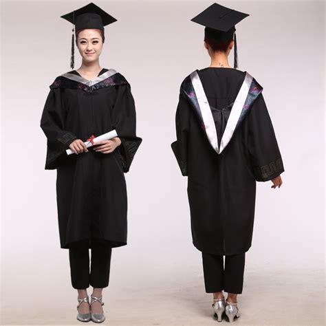 girl robes academic graduation gowns dress  women