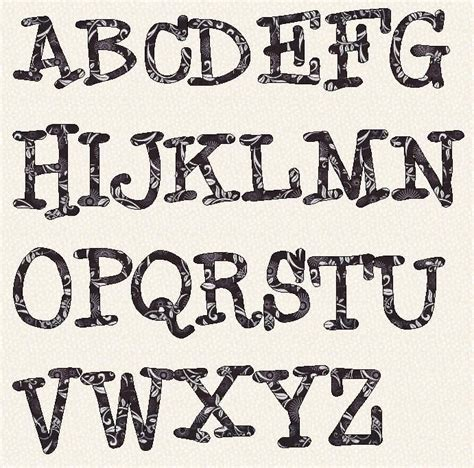 free printable fonts for crafts 17 best images about fonts and letters on pinterest