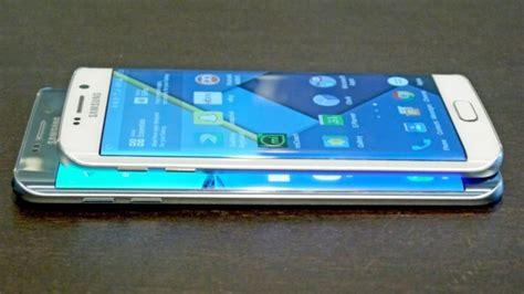 Samsung S7 Edge Vs S6 Edge samsung galaxy s6 edge vs galaxy s7 edge faced against each other neurogadget