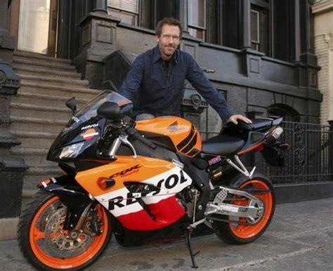 hugh lauries motorcycle  ebay news top speed