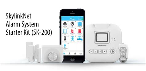smart home security systems of 2017 skylinknet alarm system