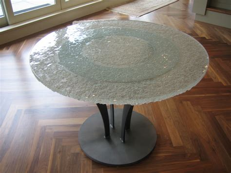 winter design feature glass tables glassworks inc