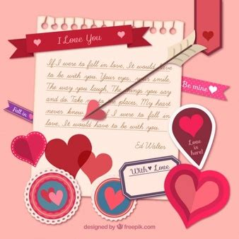 valentines day note vectors 4 600 free files in ai eps format
