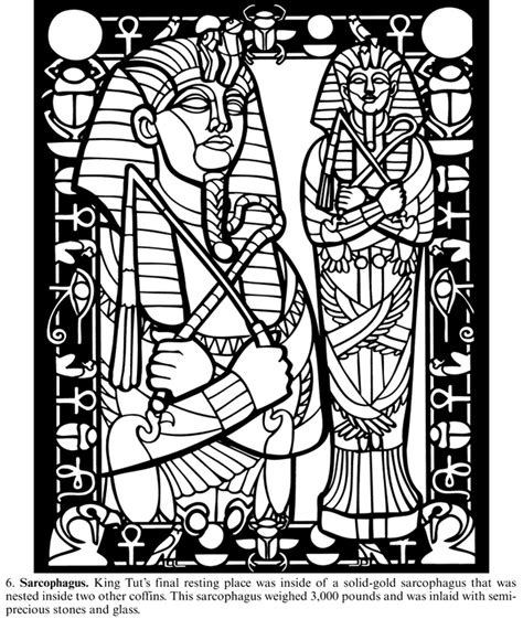 free coloring pages of egypt tomb