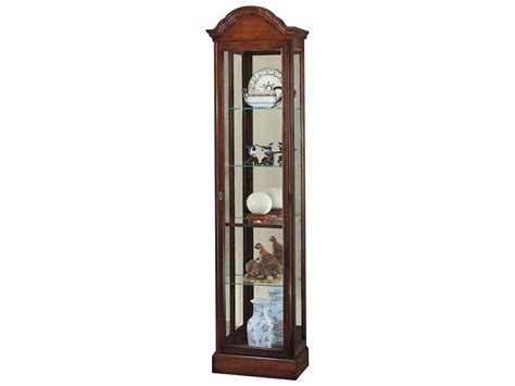 howard miller curio cabinet windsor cherry finish howard miller gilmore windsor cherry curio cabinet how680145