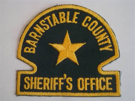 Barnstable County Sheriff S Office by Sheriff And Patches