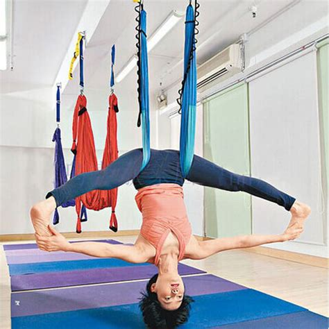 swing yoga decompression inversion therapy anti gravity yoga swing