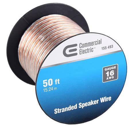 ce tech 50 ft 16 stranded speaker wire y280730