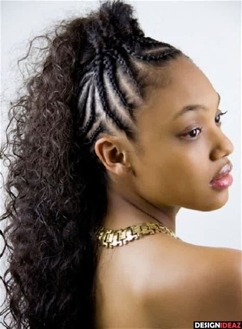loose braid hairstyle for black women 100 best black braided hairstyles 2017