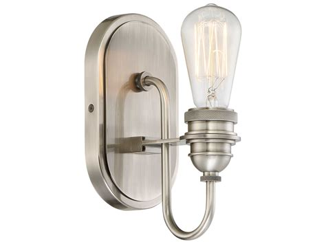 Edison Vanity Light Minka Lavery Uptown Edison Plated Pewter Vanity Light Mgo345184b